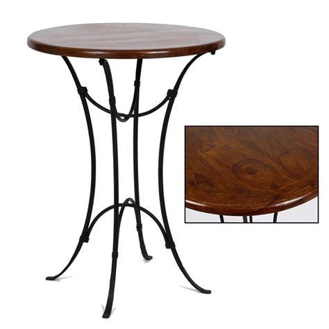 table rabattable cuisine table haute de bar en bois