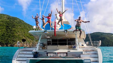 Catamaran Sailing Family by Our Family Sailing The Bvi On A Catamaran