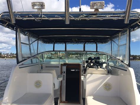 Twin Hull Boats For Sale Perth by Gulf Craft Walkaround 31 Power Boats Boats Online For