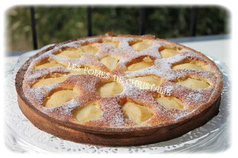 tarte aux poires amandine les folies de christalie ou quand la cuisine devient