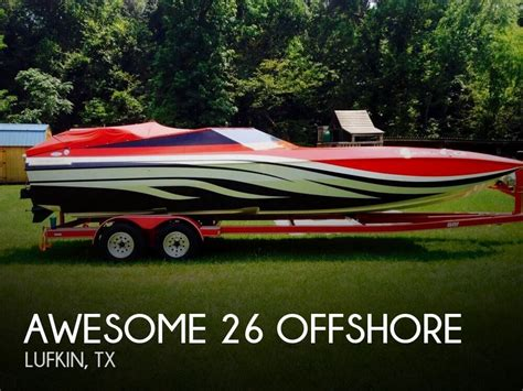 Offshore Boats For Sale Texas by For Sale Used 1998 Awesome 26 Offshore In Lufkin Texas