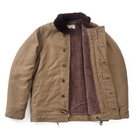 the real mccoy s n 1 deck jacket khaki