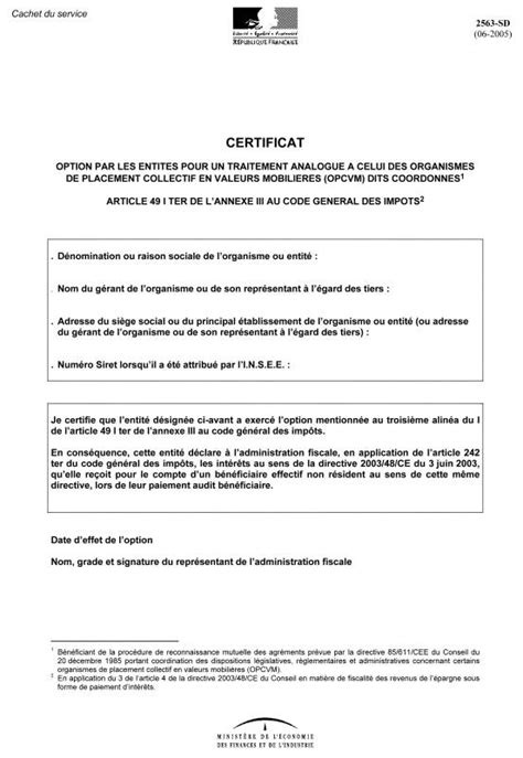 modele attestation rectificative hypotheque document