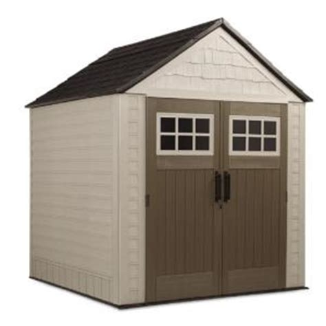rubbermaid 7 ft x 7 ft big max storage shed 1887154