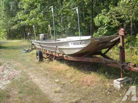 Jon Boats For Sale Memphis by 20 Ft Monark Jon Boat N Central Ar For Sale In