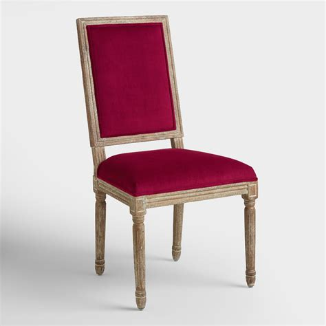 merlot square back dining chairs set of 2 world