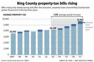 Property-tax bills in King County are among the nation's ...