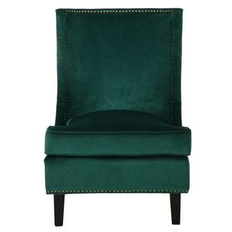 carole velvet single sofa accent chair by christopher home by christopher home