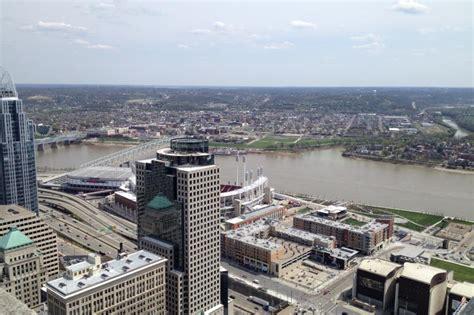 carew tower observation deck downtown cincinnati visual arts culture architecture