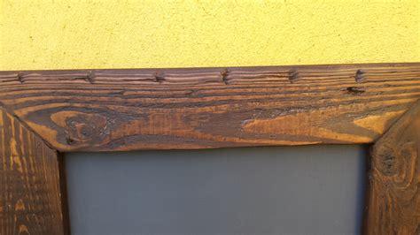 comment fabriquer un cadre en bois vieilli palettes co