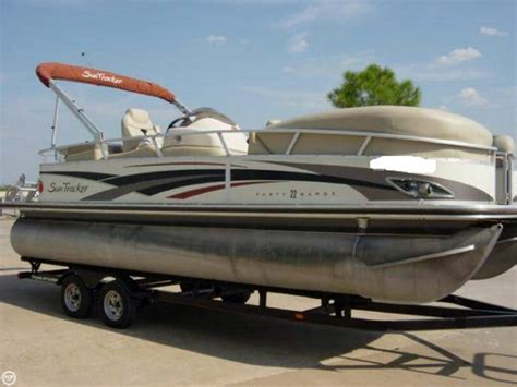 Best Cabin Boats Under 50k by 2009 Used Sun Tracker 22 Regency Edition Party Barge