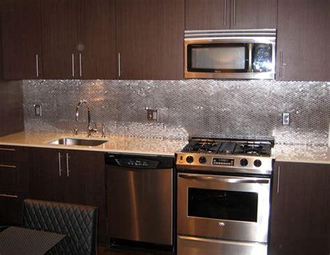 Stainless Steel Backsplash Kitchen  Sample Modern Style