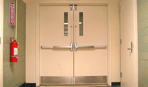How To Secure Emergency Fire Exit Doors. Sliding Bypass Door Hardware. Garage Floor Coating Home Depot. Pictures Of Barn Doors. Modern Closet Doors. Media Cabinet With Doors. Garage Weather Seal. Bifold Door Handles. Door Surrounds