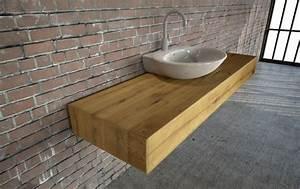 Holzplatte Massiv Eiche : gefunden wt 07 u form schubladen waschtisch eiche ~ Markanthonyermac.com Haus und Dekorationen