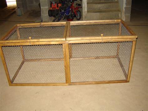 fabrication d un enclos pour lapin page 3