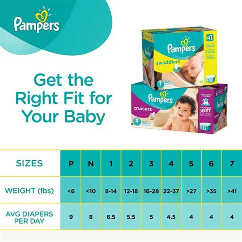 pers size chart pers diapering essentials guide baby products ayucar