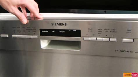 Wo finde ich das Typenschild? Siemens Geschirrspüler