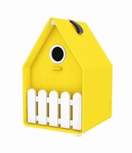 Vogelhaus Für Balkongeländer : landhaus vogelh uschen gelb top qualit t baldur garten ~ Markanthonyermac.com Haus und Dekorationen