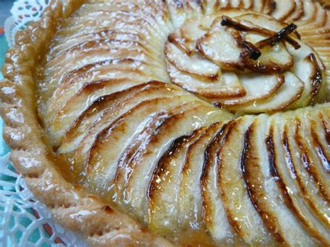 tarte aux pommes paperblog