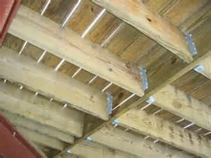 Deck Joist Hangers Or Not by Floor Joist Hanger Installation Pictures To Pin On