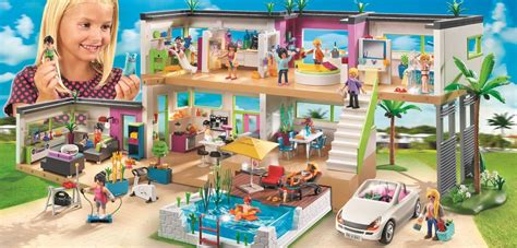 modern luxury mansion from playmobil clever luxe
