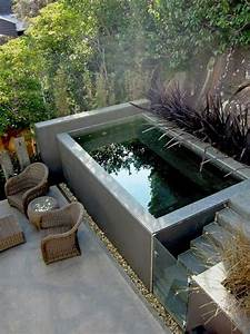 Mini Pool Design : small plunge pool for small backyard ~ Markanthonyermac.com Haus und Dekorationen