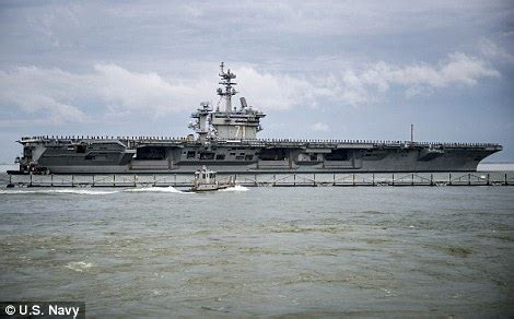 Boat Club Hervey Bay Brazilian by Uss Theodore Roosevelt Too Big To Dock At Portsmouth In Uk