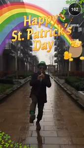 St. Patrick's Day Snapchat Story on March 17th, 2015 ...