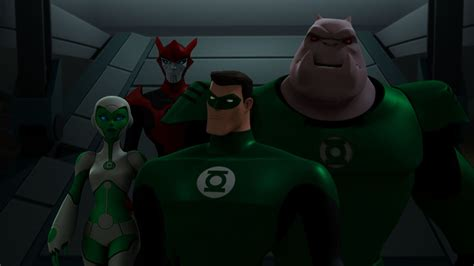 review so ends the green lantern animated series