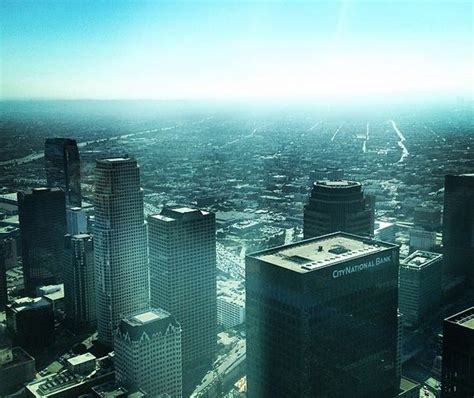observation deck coming to us bank tower in dtla