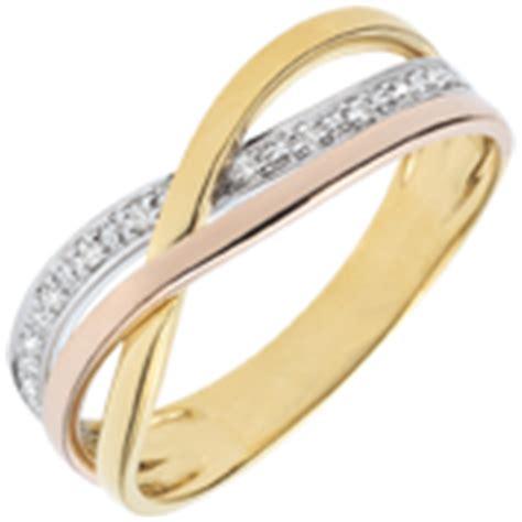 bague saturne variation 2 3 ors trois ors 18 carats bijoux edenly