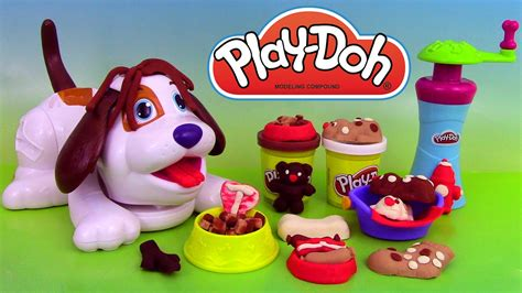 play doh puppies playset p 226 te 224 modeler adorables chiots perrito juguet 243 n