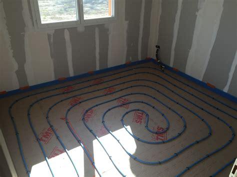 installation d un plancher chauffant tarare plombier chauffagiste villefranche loison gerard s