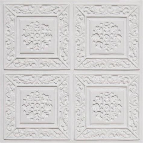 ceiling tiles flat 203 white gloss faux plastic 2x2 ul class quot a quot can be glue on on