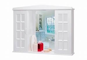 Spiegelschrank Weiß Holz : spiegelschrank landhaus breite 86 cm kaufen otto ~ Markanthonyermac.com Haus und Dekorationen