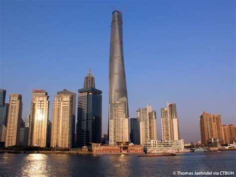 Tall Buildings : China's Newly Completed Shanghai Tower Is Now The 2nd