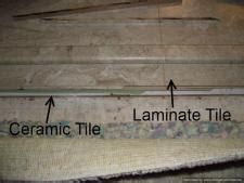 install laminate flooring ceramic tile