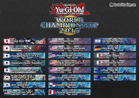 yu gi oh world chionship qualifier 2015 road of the king
