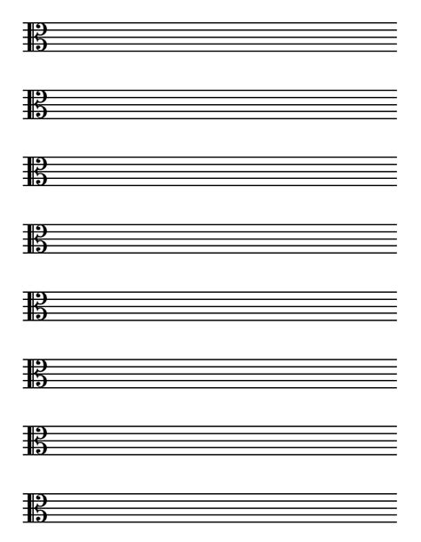 Theory Substruction Paper Template by Free Sheet Music Blank Printable Blank Sheet Music