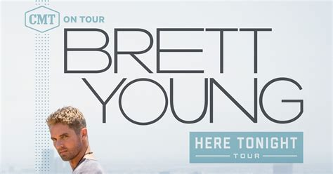 Brett Young To Headline Cmt Here Tonight Tour