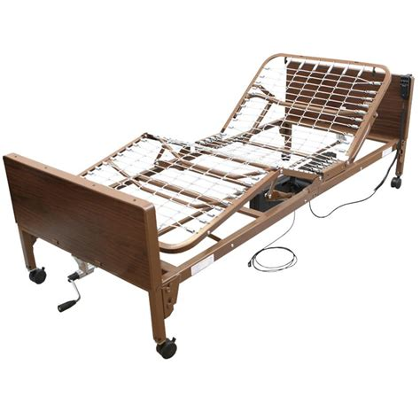 medline basic lightweight homecare bed hospital bed