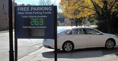 Water Street Parking Deck Opening Frees 400 New Spots