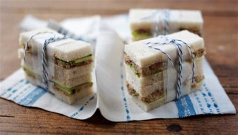 food recipes smoked mackerel pate and cucumber sandwich