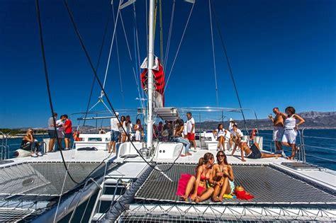 Catamaran Excursion Croatia by Boat Tours Split Excursions Excursions Split Adiona Travel