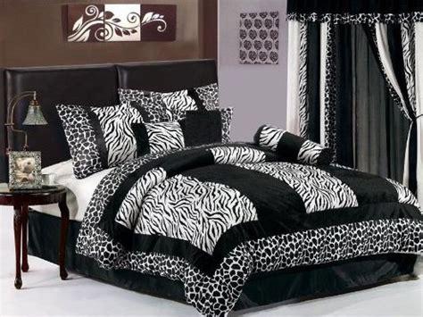 zebra print bedspreads inexpensive way to redecorate any bedroom