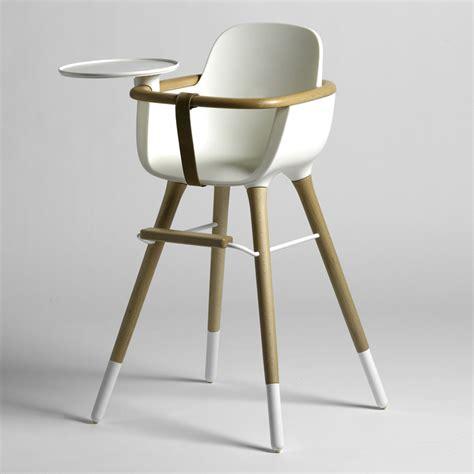 chaise haute micuna ovo blanche