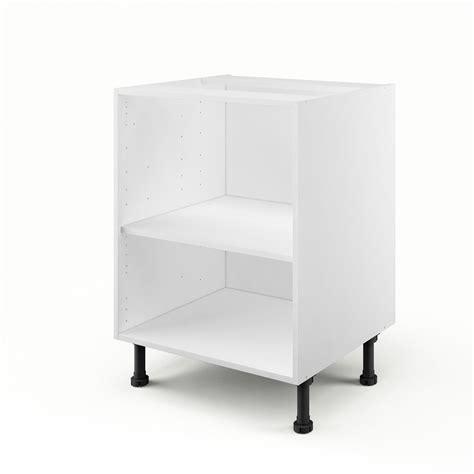 caisson de cuisine bas b60 delinia blanc l 60 x h 85 x p 56 cm leroy merlin