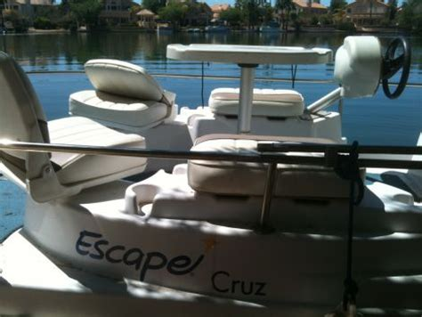 Pontoon Boats For Sale Phoenix by 2004 12 Foot Escape Cruz Pontoon Small Boat For Sale In