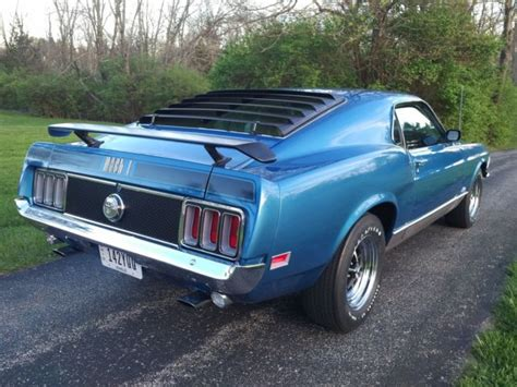 1970 Ford Mustang Mach 1 R Code 428 Cobra Jet For Sale