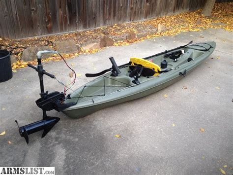 Used Outboard Motors For Sale Craigslist Texas by Armslist For Sale 12 Kayak With Trolling Motor Great